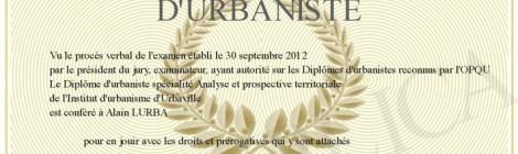 Certification professionnelle des diplômes d'urbanisme : une résolution commune du CNJU, d'UT et du SNU