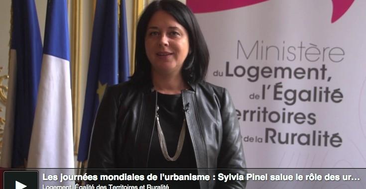 Sylvia Pinel annonce la mise en place d'un groupe de travail sur la certification professionnelle des diplômes d'urbanisme.